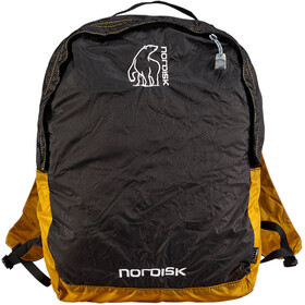 Nordisk Nibe Mochila 12 Litros, yellow/black